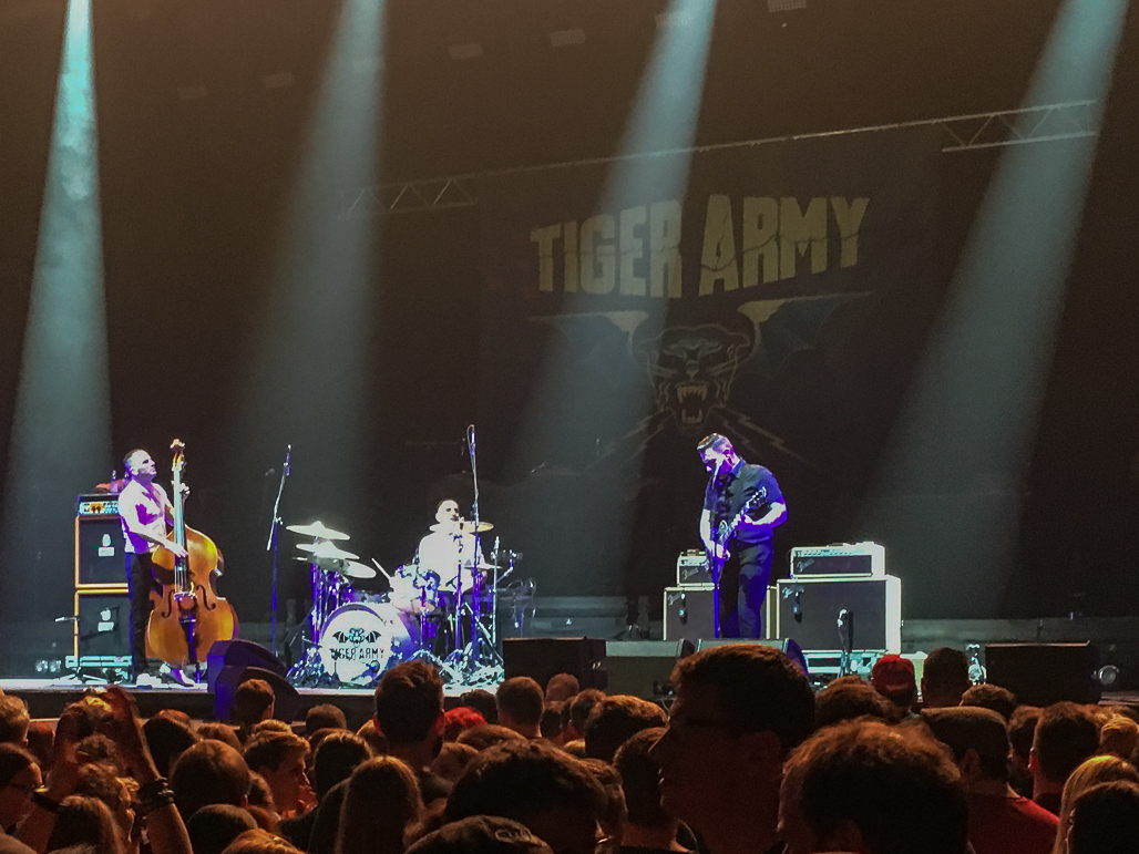 Broilers & Tiger Army, Arena Trier, 4. März 2017