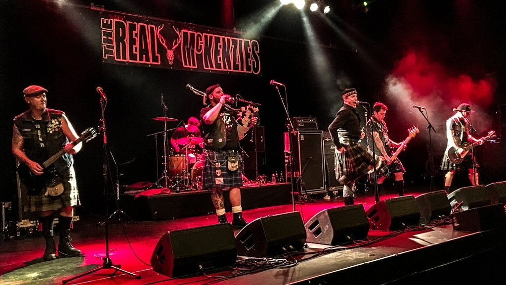 The Real Mckenzies @ Antattack Festival 2017