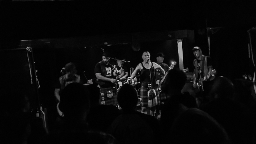 The Real McKenzies @ Exhaus Trier