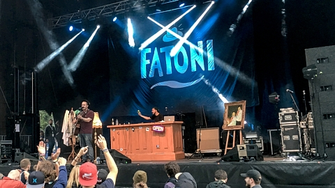 Fatoni @ Rockaway Beach Open Air, Losheim 2017