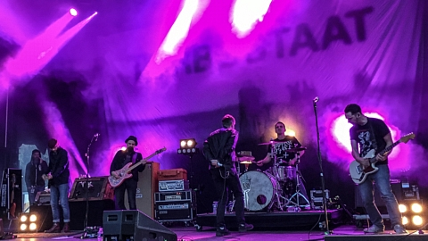 Turbostaat @ Rockaway Beach Open Air, Losheim 2017