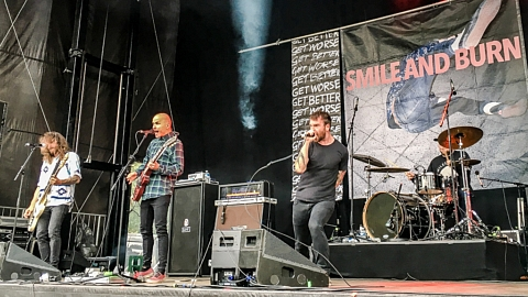 Smile and Burn @ Rockaway Beach Open Air, Losheim 2017