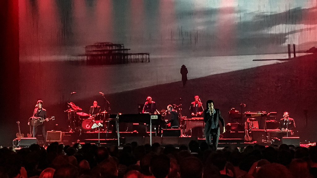 Nick Cave & The Bad Seeds, Rockhal Esch/Alzette, 10. Oktober 2017