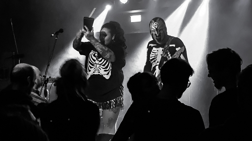 Jaya the Cat & Hell-O-Tiki, Mergener Hof Trier, 13. April 2018