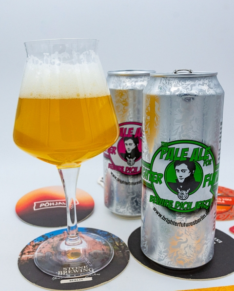 Biertest: Stone Brewing Berlin & Quartiermeister - The Pale Ale for Brighter Future